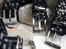 Gürtel Edel Collection silber