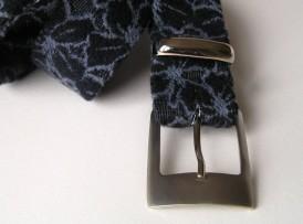 Mustermix Gürtel blau