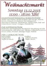 Nostalgischer Weihnachtsmarkt 2015 im Servicehaus in der Sonnenhalde in Singen