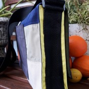 Tasche Clea Seite gelb