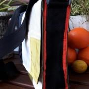 Tasche Clea Seite orange