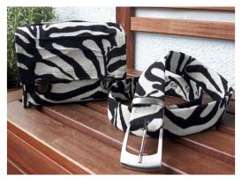 Zebra Mini Tasche