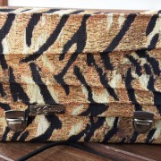 Tiger Mini Damen Handtasche Umhängetasche Schultertasche Clutch Crossover bag vorne