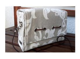 Frühlingstasche Damentasche natur beige mit passendem Gürtel-taschenbyme Bild 4