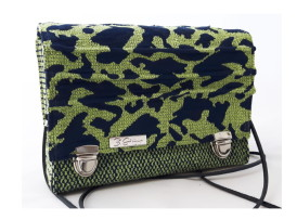 Mini Frühling Tasche Leopard grün blau Titelbild