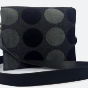Retro bag black hinten