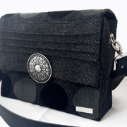 Retro bag black vorne2