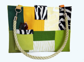 Damentasche Zola im Safari Zebra Look