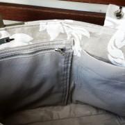 Shoppper Tasche Mailand Reißverschluss