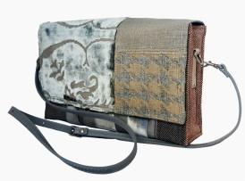 Damen Handtasche Upcyclingfashion Samira vorne